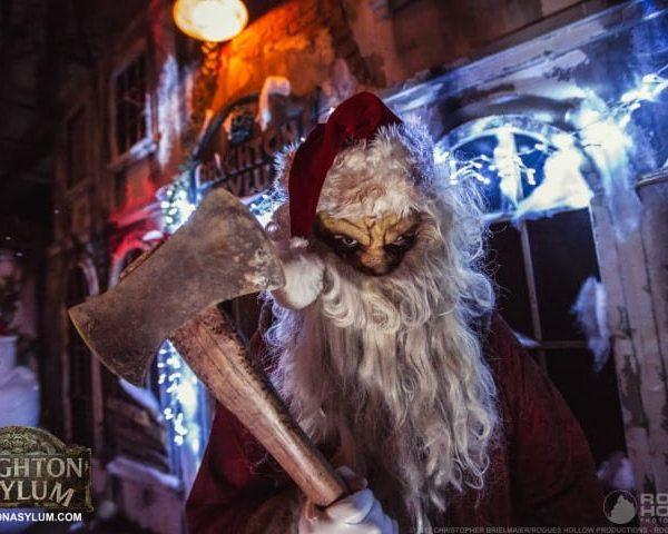 psycho santa sign 2